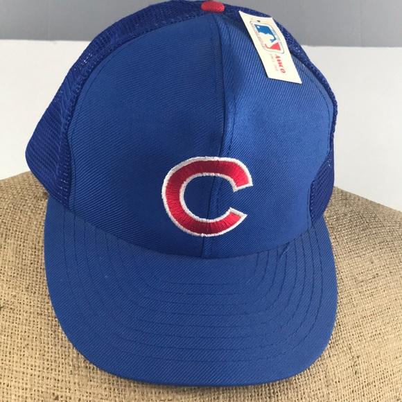 835c9b9590c Vintage Chicago Cubs SnapBack hat. M 5ac0181736b9dea6496c6ba1